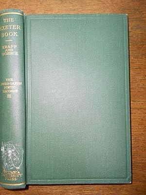 The Exeter Book.: KRAPP (George Philip),