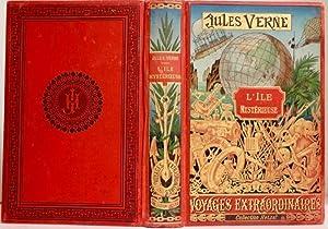 """L'Ile mystérieuse. Collection """"Les Voyages Extraordinaires"""".: VERNE (Jules)"""