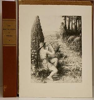 Les bucoliques.Traduction de Xavier de Magallon. Page: ROUSSEL (K.-X.) VIRGILE