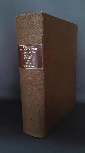 Réunion de cinq catalogues de collection d'objets: PEINTURE].