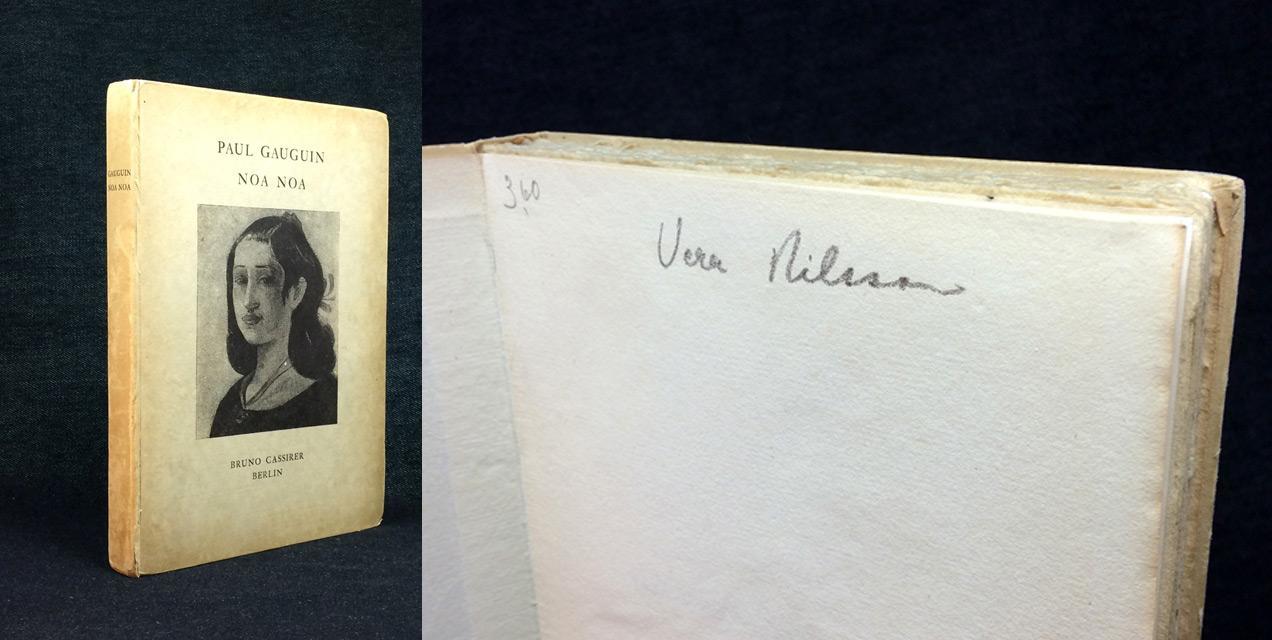 Noa Noa. by GAUGUIN, Paul (1848-1903): Zweite Auflage. / Mit acht ...