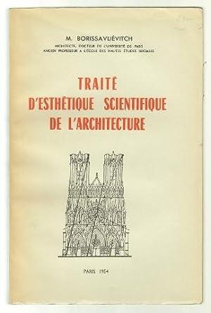 Traité d'esthétique scientifique de l'architecture. Avec 512: Borissavliévitch, Miloutine