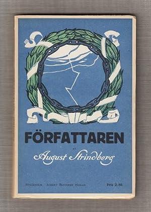 Författaren. En själs utvecklingshistoria (1877-1887).: Strindberg, August