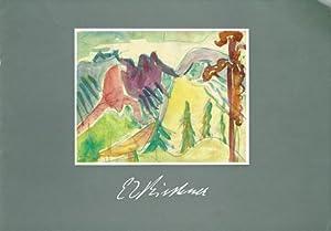 Ernst Ludwig Kirchner (1880-1938). Aquarelle und Zeichnungen: KIRCHNER, Ernst Ludwig)