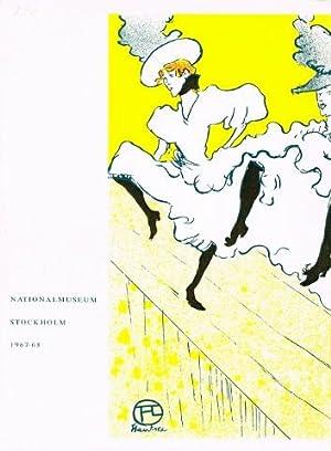 Toulouse-Lautrec. Nationalmuseum Stockholm 26 december 1967-3 mars: TOULOUSE-LAUTREC, Henri de)