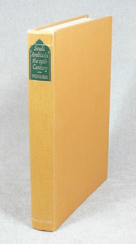 Saudi Arabia in the Nineteenth Century.: Winder, R. Bayly