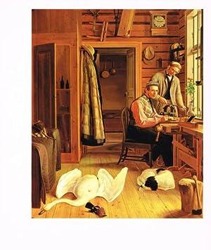 Konstnärsbröderna von Wright. Magnus von Wright 1805-1868: WRIGHT, Magnus von