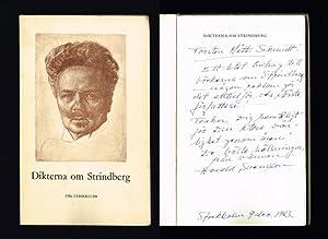 Dikterna om Strindberg. Ett urval av Harald: Strindberg, August)