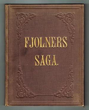Fjolners saga berättad och ritad af Acharius.: Scholander, Fredrik Wilhelm]