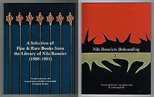 A selection of fine & rare books: Bonnier, Nils) -