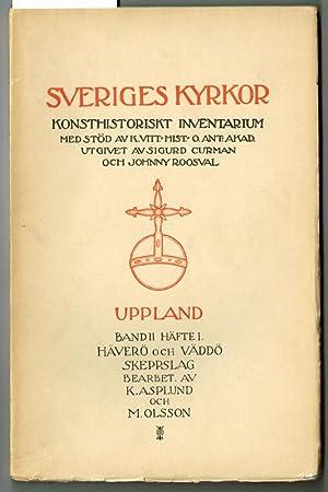 Kyrkor i Väddö och Häverö skeppslag. [Häverö,: Asplund, Karl &