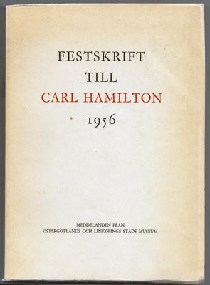 Festskrift till Carl Hamilton.: Berger, Johan Christian