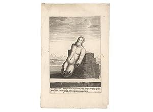 Verklighetstrogen bild av guden Tor, som fordom: Dahlberg, Erik] -