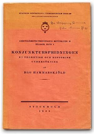 Konjunkturspridningen. En teoretisk och historisk undersökning.: Hammarskjöld, Dag