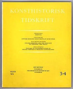 Konsthistorisk tidskrift. Årg. 43 (1974), häfte 3-4.: Gustav Vasa /