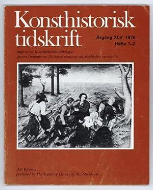 Konsthistorisk tidskrift. Årg. 45 (1976), häfte 1-2.: Bruegel d.ä., Pieter