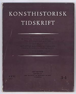 Konsthistorisk tidskrift. Årg. 26 (1957), häfte 3-4.: Bosch, Hieronymus /