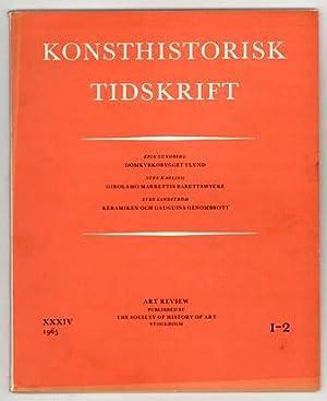 Konsthistorisk tidskrift. Årg. 34 (1965), häfte 1-2.: Gauguin, Paul /