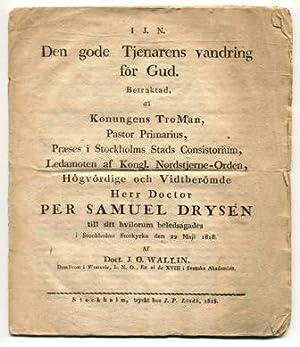 Den gode tjenarens vandring för Gud. Betraktad,: Wallin, Johan Olof