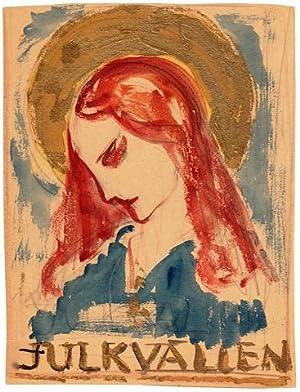 Julkvällen.: Lybeck, Bertil (1887-1945)