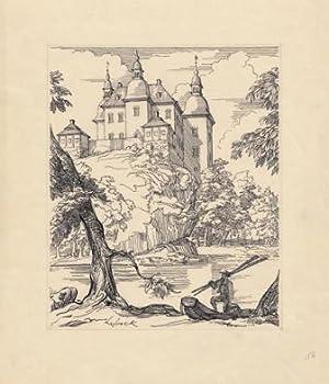 Eknäs friherreborg. [Ekenäs slott.]: Lybeck, Bertil (1887-1945)