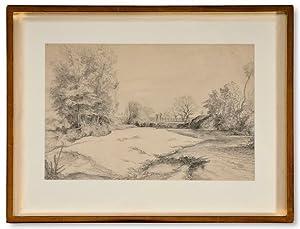 Motiv från Cagnes.: Lybeck, Bertil (1887-1945)