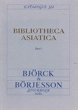 Bibliotheca Asiatica. Part 1. (All published.): Löwendahl, Björn]