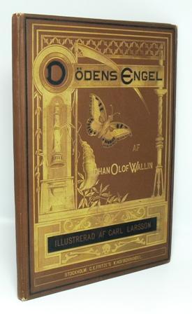 Dödens Engel. Illustrerad av Carl Larsson.: Wallin, Johan Olof