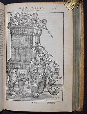 De re militari libri qvatvor. Post omnes: Vegetius, Renatus Flavius.