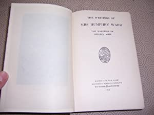 THE WRITINGS OF MRS HUMPHRY WARD -: Mrs Humphry Ward