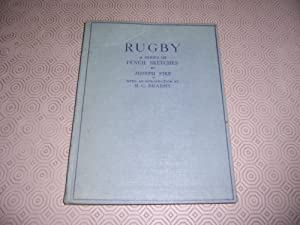RUGBY A SERIES OF PENCIL SKETCHES: Joseph Pike