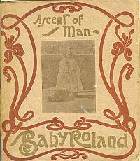 ASCENT OF MAN BABY ROLAND; Baby Roland Booklet No 2