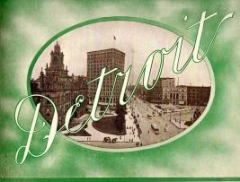 VIEWS OF AMERICAN CITIES; 8 Early 20th Century Souvenir View Books , Including Pittsburgh, Detroit ...