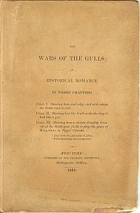 THE WARS OF THE GULLS; An Historical Romance In Three Chapters.