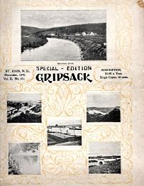THE GRIPSACK; Special edition for St. John, N.B. , November, 1898, Vol. X, No. 10