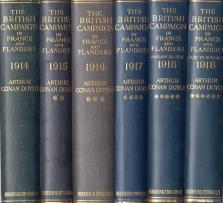 The British Campaign in France and Flanders, 1914,-1918; 6 Volumes