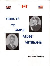 TRIBUTE TO MAPLE RIDGE VETERANS