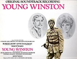 CHURCHILL WINSTON;Original soundtrack recording from Columbia Picture's Young Winston: Alfred ...