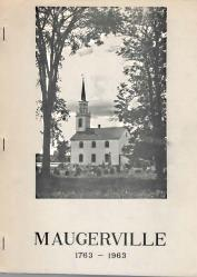 MAUGERVILLE 1763 1963