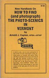 How to Find and photograph the photo-scenics in Vermont,