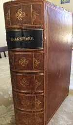 THE WORKS OF WILLIAM SHAKSPEARE : with life, glossary, etc. : prepared from the texts of the firs...