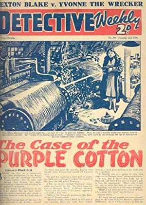 DETECTIVE WEEKLY; No 354 & No 355, Dec. 1939