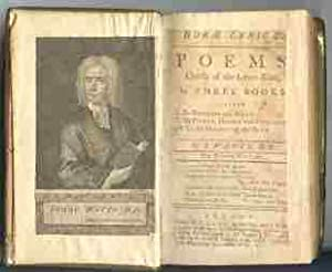 Horæ lyricæ. Poems, chiefly of the lyric kind, in three books. . By I. Watts, D.D.: ...