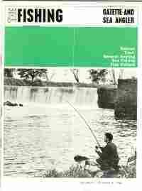 THE FISHING GAZETTE AND SEA ANGLER; 1966, 17 Issues: Marston, A. Norman, (Publisher & Editor)