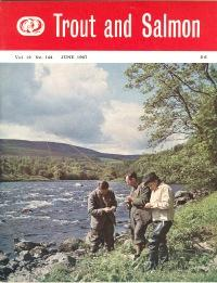 TROUT AND SALMON MAGAZINE; Jan. to June.: Angling Times Limited