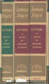 LETTERS OF JAMES JOYCE; Edited By Stuart Gilbert, 3 Volumes