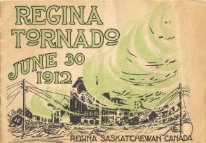 REGINA TORNADO, June 30, 1912 : Regina, Saskatchewan, Canada.: Rossie Photo.