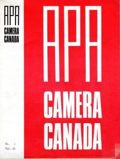 CAMERA CANADA; 95 issues, No. 1, March, 1969 to No. 95 Summer, 1993