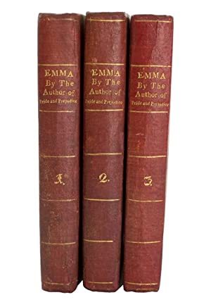 Emma: A Novel In Three Volumes. By: AUSTEN, Jane