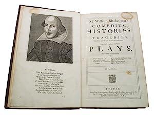 Mr. William Shakespear's Comedies, Histories, and Tragedies: SHAKESPEARE, William